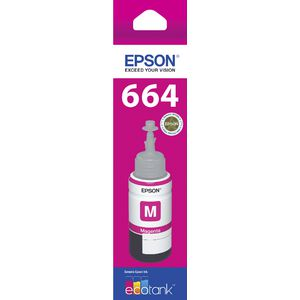 Epson T664 EcoTank Ink Bottle Magenta