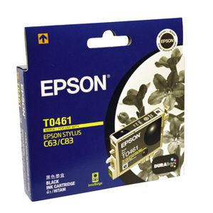 Epson Ink Cartridge Black T0461