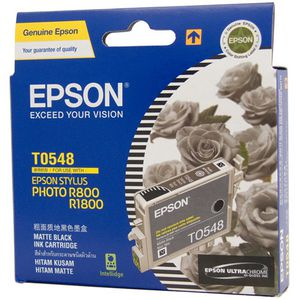 Epson Ink Cartridge Matte Black T0548