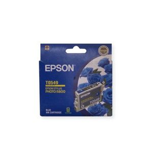 Epson Ink Cartridge Blue T0549