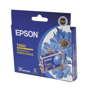 Epson Ink Cartridge Cyan T0562