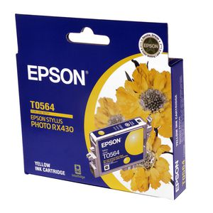Epson Ink Cartridge Yellow T0564