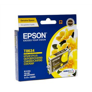 Epson Ink Cartridge Yellow T0634