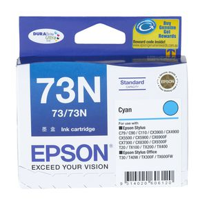Epson 73 Ink Cartridge Cyan
