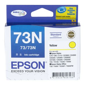 Epson 73 Ink Cartridge Yellow