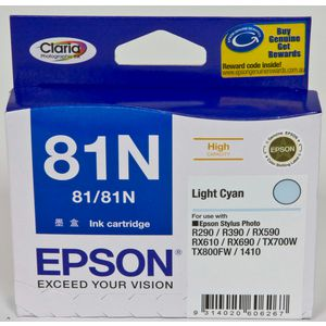 Epson 81N High Capacity Ink Cartridge Light Cyan