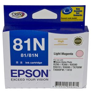 Epson 81N High Capacity Ink Cartridge Light Magenta