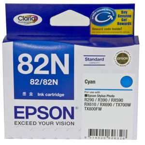 Epson 82N Ink Cartridge Cyan