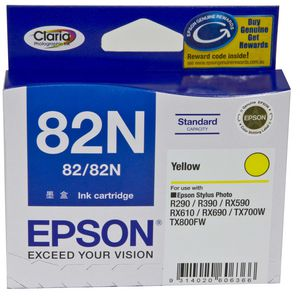 Epson 82N Ink Cartridge Yellow