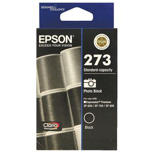 Epson 273 Standard Photo Ink Cartridge Black