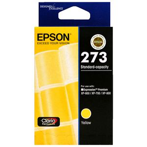Epson 273 Standard Ink Cartridge Yellow