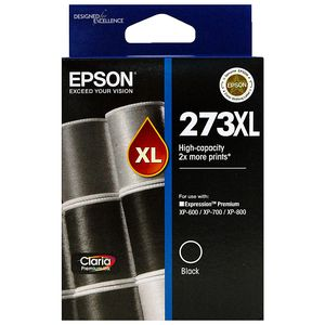 Epson 273XL High Capacity Ink Cartridge Black