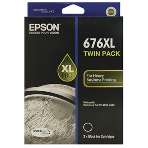 Epson 676XL Ink Cartridge Twin Pack