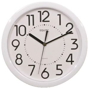 Equity Wall Clock White