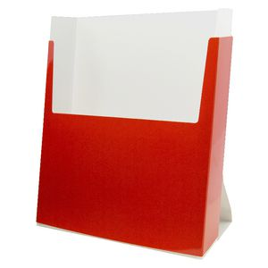 Esselte Ezi Pop A4 Brochure Holder Red 3 Pack
