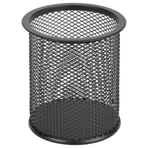 Esselte Mesh Pencil Cup Black