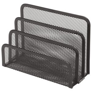 Esselte Mesh Vertical Sorter Black