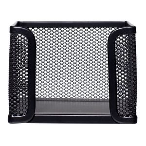 Esselte Mesh Memo Cube Black