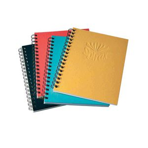 Spirax No.511 A5 Hard Covered Notebook 200 Page Black