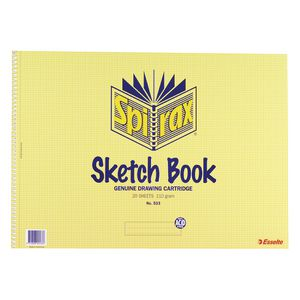 Spirax No. 533 A3 Sketch Book 20 Sheet