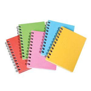 Spirax A6 Hard Cover Notebook 200 Page Assorted Colours