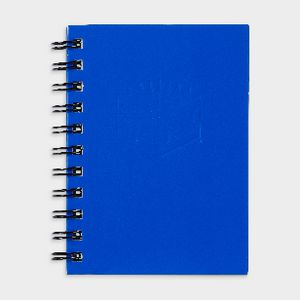 Spirax No. 510 A6 Hard Cover Notebook 100 Page Blue