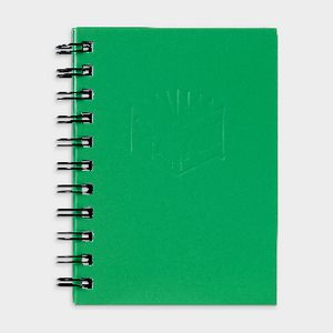 Spirax No. 510 A6 Hard Cover Notebook 100 Page Green