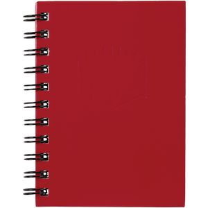 Spirax No. 510 A6 Hard Cover Notebook 100 Page Red