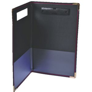 Esselte Foolscap Supertuff Clipfolder Black