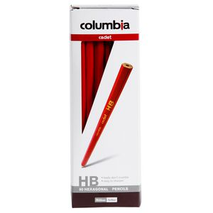 Columbia Cadet HB Hexagonal Lead Pencils 60 Pack