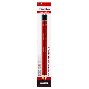 Columbia Copperplate Lead Pencil HB 2 Pack