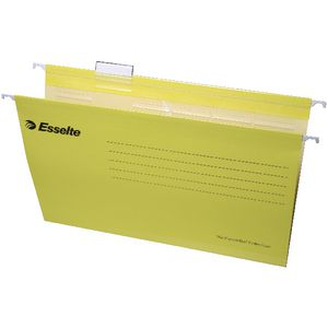 Esselte Pendaflex Ready Tab Files Yellow 10 Pack