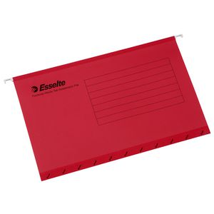Esselte Pendaflex Ready Tab Files Red 10 Pack