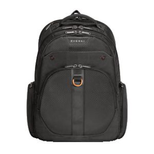 "Everki Atlas 15.6"" Checkpoint Friendly Laptop Backpack Black"