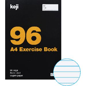 Keji A4 Exercise Book 96 Pages