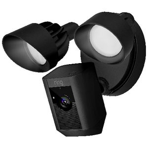 Ring Floodlight Outdoor Camera Black