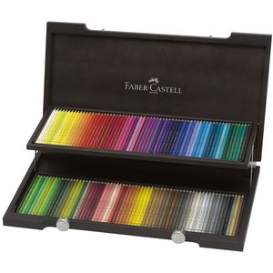 Faber-Castell Polychromos Pencils Woodcase 120 Pack