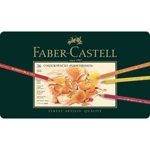 Faber-Castell Polychromos Pencils Tin 36 Pack