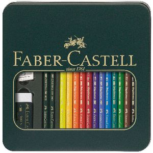 Faber-Castell Mixed Polychromos Pencils 16 Pack