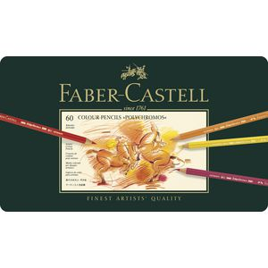 Faber-Castell Polychromos Pencils Tin 60 Pack