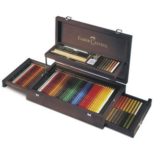 Faber-Castell 110 Piece Art Set
