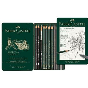 Faber-Castell PITT Graphite 11 Piece Set in Tin