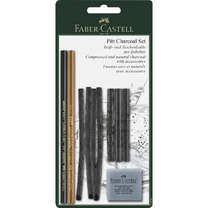 Faber-Castell PITT Charcoal Set 10 Pack