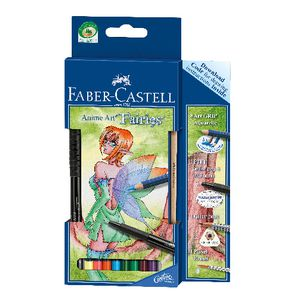 Faber Castell Anime Art Set Fairies