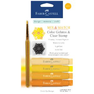 Faber-Castell Gelatos Yellow 4 Pack