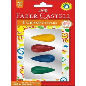 Faber-Castell Grasp Crayons 4 Pack