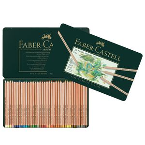 Faber-Castell Pitt Pastel Pencils Tin 36 Pack