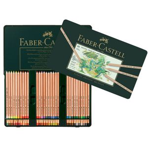Faber-Castell Pitt Pastel Pencils Tin 60 Pack
