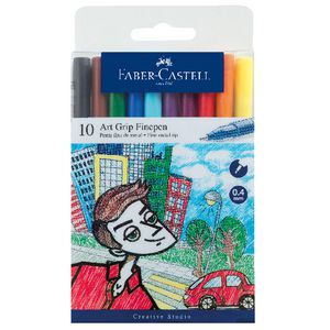 Faber-Castell Art Grip Fineliners 10 Pack