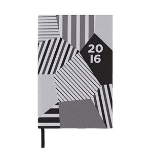 J.Burrows A5 Week to View 2016 Printed Canvas Diary
